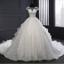 princess wedding dress vestido de noiva renda vintage lace princess wedding dress real