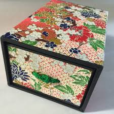 handcrafted japanese ornaments box from japan design craft