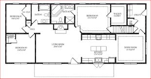 Three Bedroom Ranch Floor Plans Executive House Plans Chuckturner Us Chuckturner Us