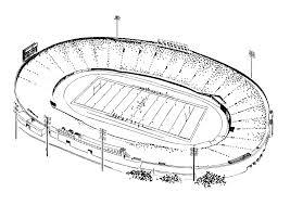 pittsburgh steelers stadium drawings sketch coloring page