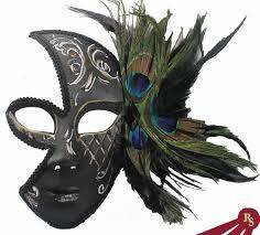 peacock mardi gras mask fancy play mask women s venetian costume