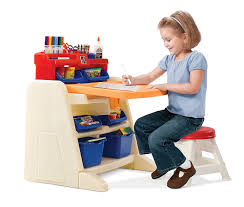 Step Two Art Desk Step2 Flip And Doodle Easel Desk With Stool Easels Amazon Canada