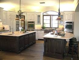 kitchen with two islands island kitchen dimensions yurui me