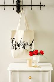 bridal party gift bags bridesmaid tote bags bridesmaid gift of honor gift favor