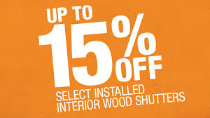 Home Depot Wood Shutters Interior Savings Archives Rockwood Shutters Blinds And Draperies