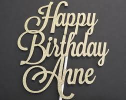 happy birthday cake topper fierce fabulous 40 cake topper glitter cake topper 40th