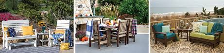 Outdoor Living Patio Furniture Durable Poly Patio Furniture At Green Acres Outdoor Living