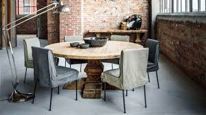 Table Repas Style Industriel by Table Ronde En Bois Table En Bois Ronde Table Ronde Bois Table