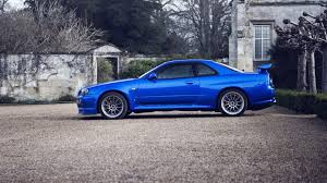 blue nissan skyline fast and furious nissan skyline gtr r34 wallpapers group 89