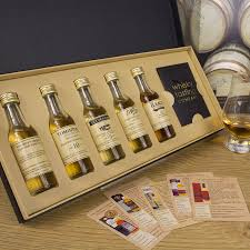 gift set single malt whisky gift set by whisky tasting company