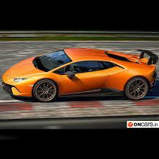 lamborghini upcoming cars lamborghini huracan performante goes on sale in india find
