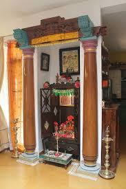 pillar designs for home interiors 33 best pooja room decoration images on puja room