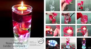 roses floating candle centerpiece now focus