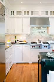 Photos Of Backsplashes In Kitchens Modern Brick Backsplash Kitchen Ideas