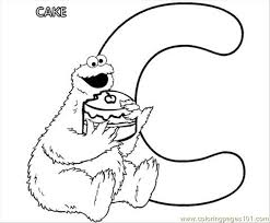 cookie monste coloring free cookie monster coloring pages