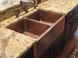 copper apron front sink copper kitchen sinks signature kitchen copper sink circle city