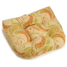 Patio Chair Cushion by U Shaped Patio Chair Rocker Chair Cushion Patterned Fabric