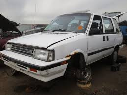 old nissan van junkyard find 1987 nissan stanza wagon the truth about cars
