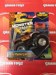 el toro loco monster truck videos dragon blast challenge toy s jam wheels monster truck grave