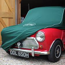 logo mini cooper luxury fabric mini car cover