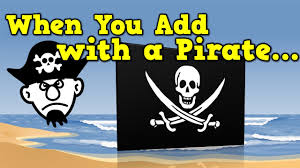 when you add with a pirate addition song for kids youtube