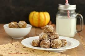 pumpkin pie snowball cookies beauty and the foodie