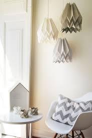 suspension chambre enfant suspension origami couleurs pastel suspension chambre enfant