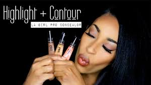 highlight and contour for beginners black women youtube