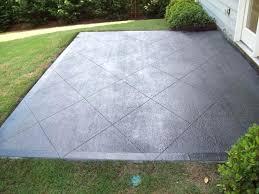 Backyard Concrete Patio Concrete Backyard Ideas U2013 Mobiledave Me