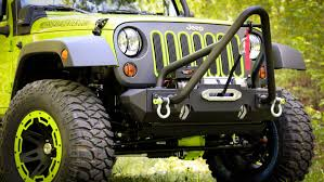 lifted jeep green jeep accessories by rugged ridge bumpers lift kits seat covers