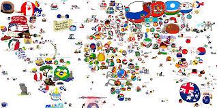 Map Of Thr World by Polandball Comics Collection Of Polandball And Countryball