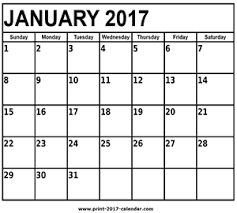 print calendars for 2017 january 2017 calendar print 2017 calendar