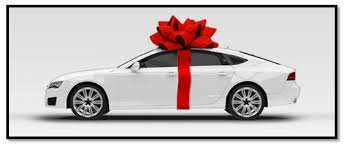 big bow for car present king size bows