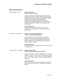 Manager Sample Resume Creative Assistant Property Manager Resume Template Page 3
