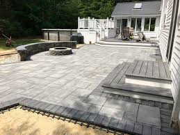 patios walkways pool deck design u0026 fire pits u2014 mf landscape