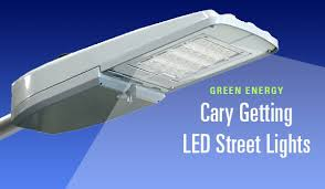 led street light fixtures green energy cary getting led street lights carycitizen