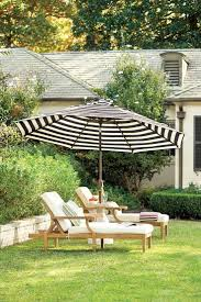 Beachmont Outdoor Patio Furniture Awesome Black And White Striped Patio Umbrella 76 About Remodel