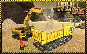 uphill city construction crane road builder 3d android apps on