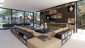 Moderne Wohnzimmer Design Modernes Haus Modernes Wohnzimmer Braun Bezdesign Modernes