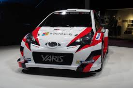 world auto toyota toyota partners with microsoft to take yaris wrc car to victory