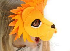 lion mask for kids lion mask pattern kids animal mask sewing pattern diy party mask