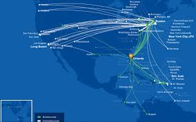 Hawaiian Airlines Route Map by Jetblue To Launch Salt Lake City Orlando Flights On November 12