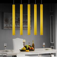 led cylinder pendant lights contemporary modern led cylinder pendant lights kitchen ceiling