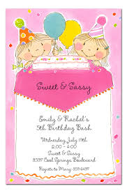 sweet and sassy birthday invitations by invitation consultants