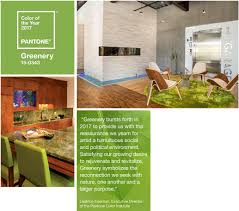 home trends using pantone color of the year 2017 greenery