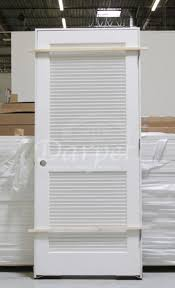 Interior Door Slabs Louver Louver Primed 6 8 Darpet Doors Windows And Trims