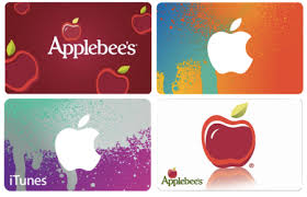 applebee s gift cards hot 40 for 50 applebee s or itunes gift card free shipping