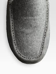 ugg rudyard sale lyst ugg ascot wool slippers in gray for