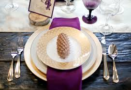 white gold and purple wedding winter wedding inspiration southern weddings