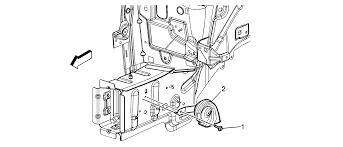 repair instructions horn replacement 2008 pontiac torrent